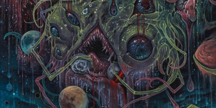 Obscura + Revocation + beyond creation + rivers of nihil